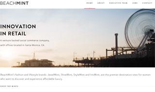 Beachmint - Website Snapshot